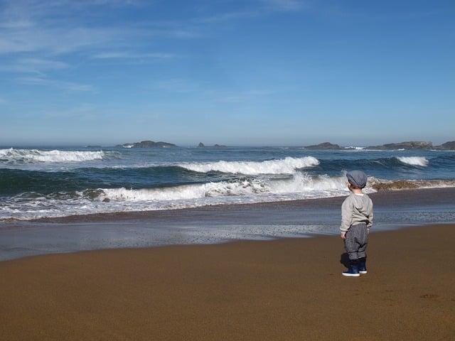 Klanggeschichte für Kinder Strand